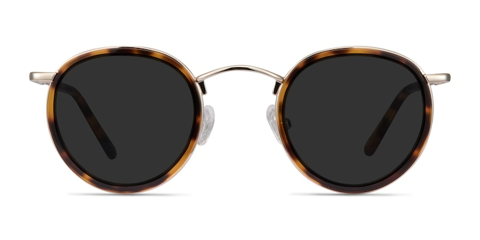 Rollin Tortoise Acetate-metal Sunglass Frames from EyeBuyDirect