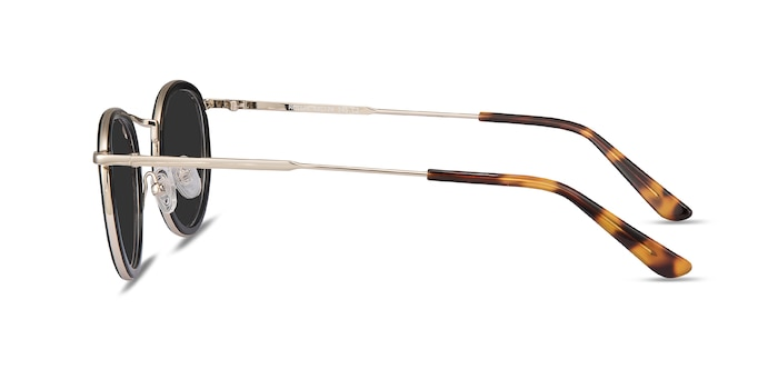 Rollin Black Acetate-metal Sunglass Frames from EyeBuyDirect