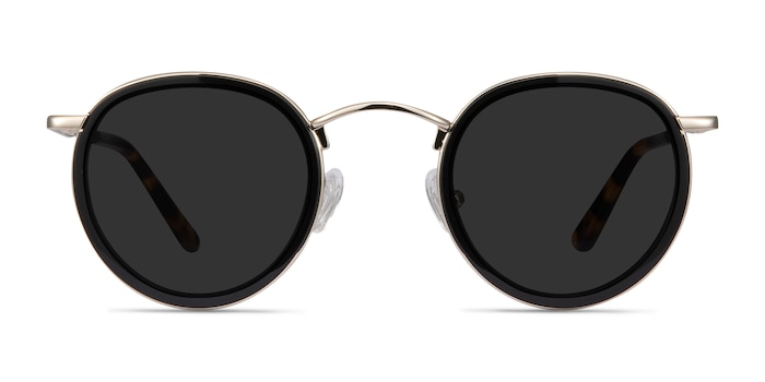 Critic Black Acetate-metal Sunglass Frames from EyeBuyDirect