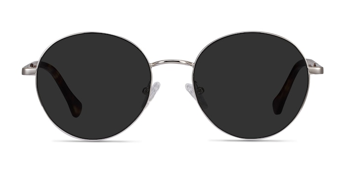Grasp Silver Acetate-metal Sunglass Frames from EyeBuyDirect