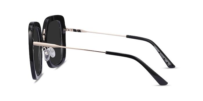 Canopy Black Acetate-metal Sunglass Frames from EyeBuyDirect