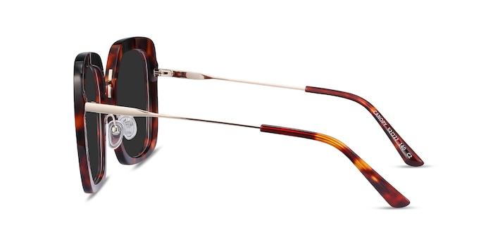 Canopy Tortoise Acetate-metal Sunglass Frames from EyeBuyDirect