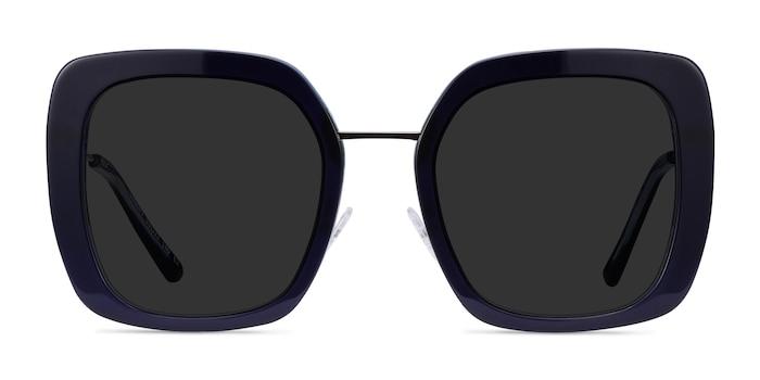 Canopy Blue Acetate Sunglass Frames from EyeBuyDirect