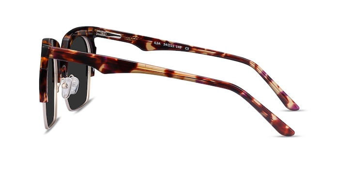 Ilsa Tortoise Acetate-metal Sunglass Frames from EyeBuyDirect