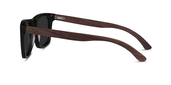 Grow Dark Green & Wood Wood-texture Sunglass Frames from EyeBuyDirect