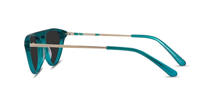 Satellite Clear Green Acetate Sunglass Frames from EyeBuyDirect