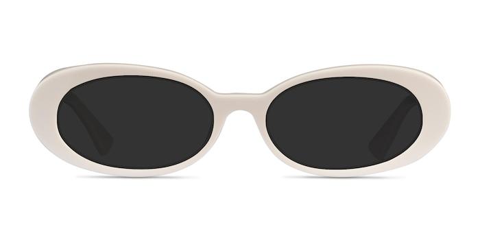 Winona Beige Acetate Sunglass Frames from EyeBuyDirect