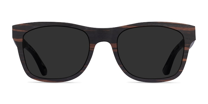 Bosk Striped Wood Wood-texture Sunglass Frames from EyeBuyDirect