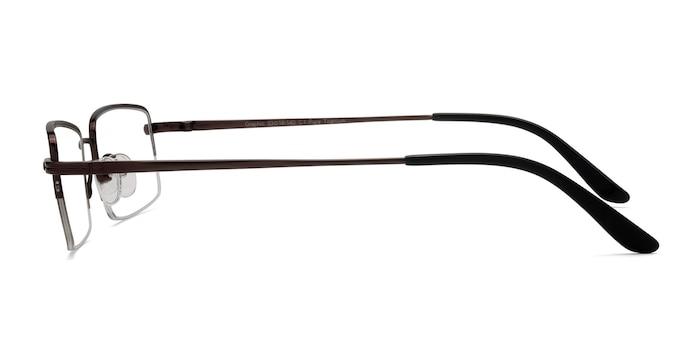Graphic  Coffee  Titanium Eyeglass Frames from EyeBuyDirect