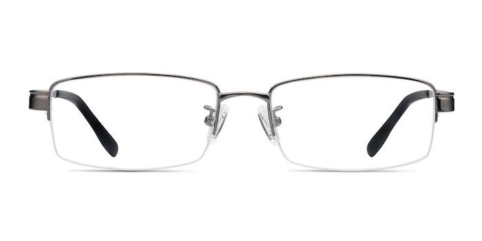 Emerge Gunmetal Titane Montures de Lunette de vue d'EyeBuyDirect