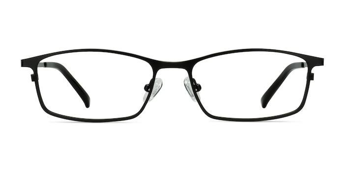 Present Black Titanium Eyeglass Frames from EyeBuyDirect