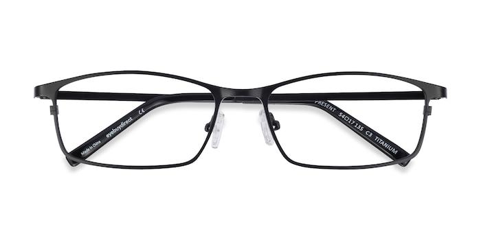 Black Present -  Lightweight Titanium Eyeglasses