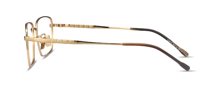 Canto Golden Titanium Eyeglass Frames from EyeBuyDirect