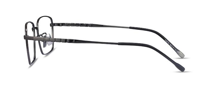 Canto Gunmetal Titanium Eyeglass Frames from EyeBuyDirect