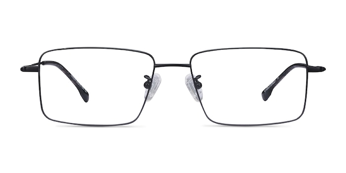 Lands Black Titanium Eyeglass Frames from EyeBuyDirect