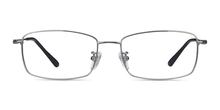 Hobbes Gunmetal Titanium Eyeglass Frames from EyeBuyDirect