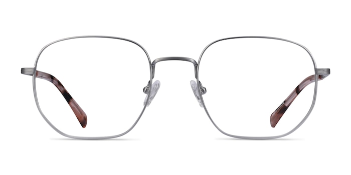 Dante Gunmetal Titanium Eyeglass Frames from EyeBuyDirect