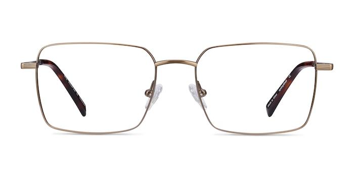 Apex Bronze Titanium Eyeglass Frames from EyeBuyDirect