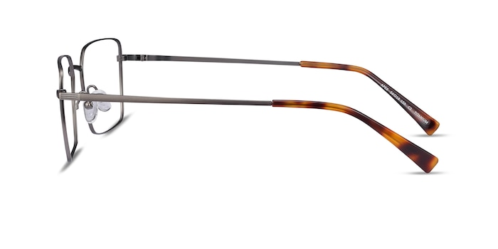 Apex Gunmetal Titanium Eyeglass Frames from EyeBuyDirect