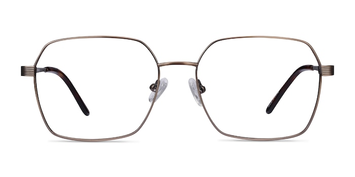 East Bronze Titanium Eyeglass Frames from EyeBuyDirect