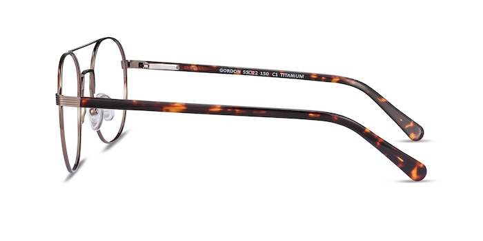 Gordon Bronze Acetate Eyeglass Frames from EyeBuyDirect