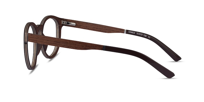 Jungle Wood Wood-texture Eyeglass Frames from EyeBuyDirect
