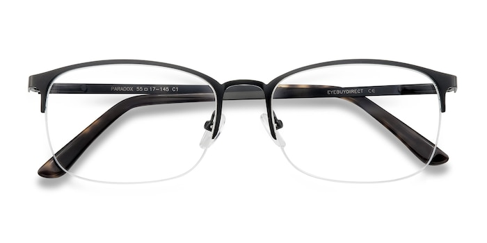 Black Paradox -  Metal Eyeglasses