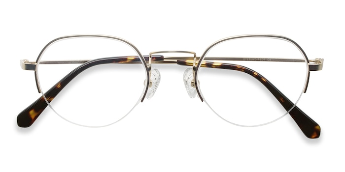 Golden Kalpana -  Vintage Metal Eyeglasses