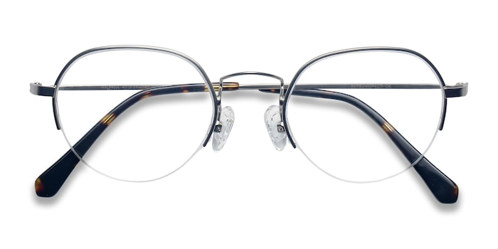 Silver Kalpana -  Metal Eyeglasses