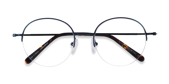 Blue Albee -  Lightweight Metal Eyeglasses