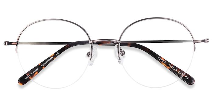 Gunmetal Albee -  Lightweight Metal Eyeglasses