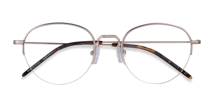 Golden Noblesse -  Vintage Metal Eyeglasses