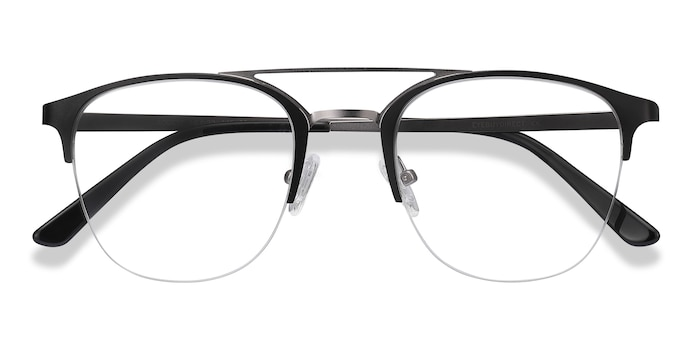 Black Society -  Vintage Metal Eyeglasses
