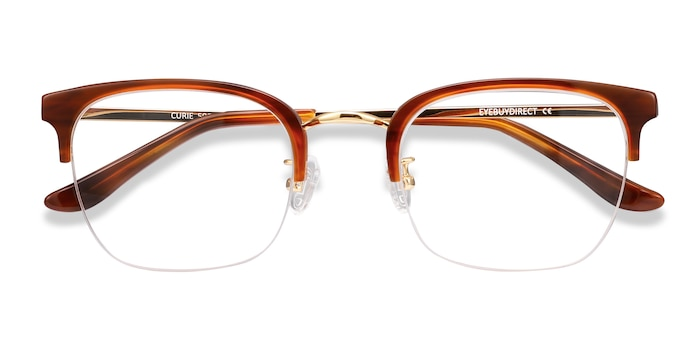 Brown Curie -  Vintage Acetate Eyeglasses