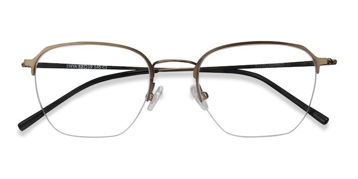 Bronze Enya -  Metal Eyeglasses