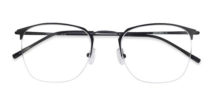 Black Urban -  Vintage Metal Eyeglasses