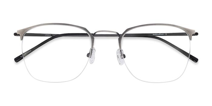 Gunmetal Urban -  Vintage Metal Eyeglasses