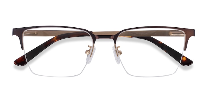 Brown Brink -  Metal Eyeglasses