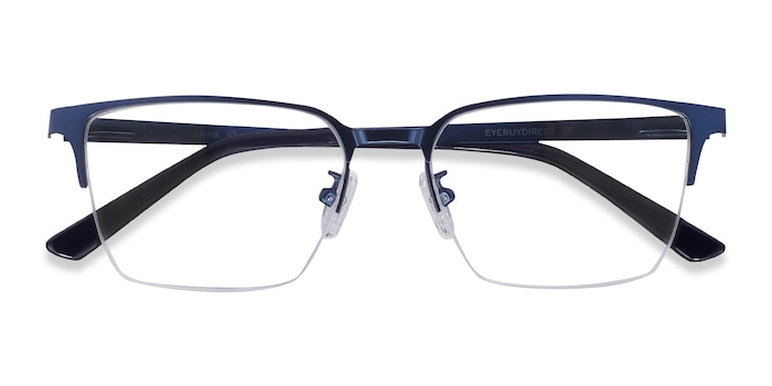 Blue Brink -  Metal Eyeglasses