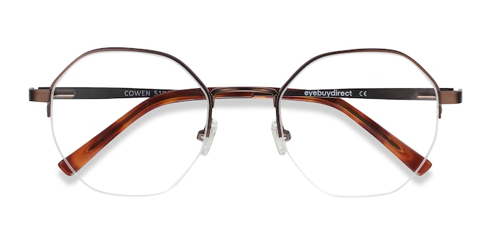 Bronze Cowen -  Fashion Metal Eyeglasses