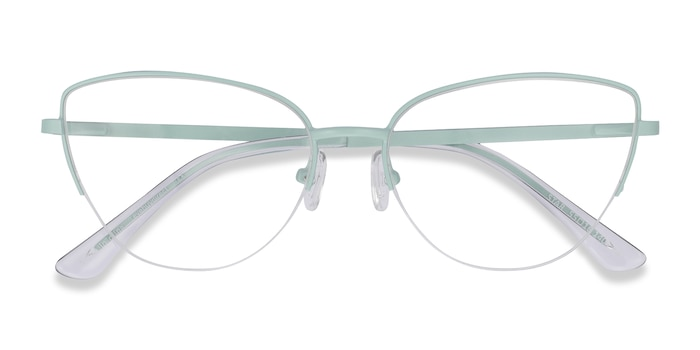 Mint Star -  Colorful Metal Eyeglasses