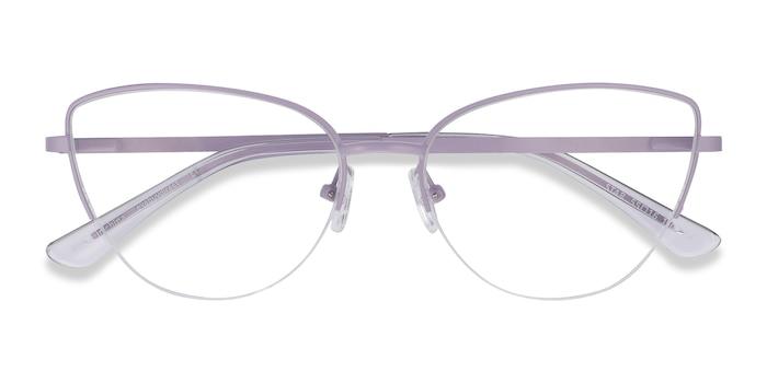 Lavender Star -  Fashion Metal Eyeglasses