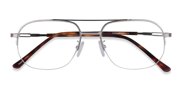 Silver Carlson -  Classic Metal Eyeglasses