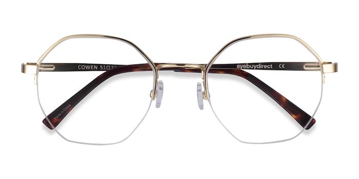 Gold Cowen -  Metal Eyeglasses