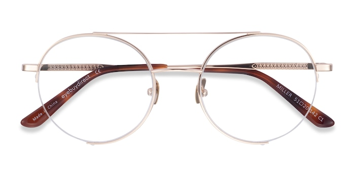 Gold Miller -  Metal Eyeglasses