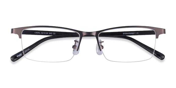 Gunmetal Cadel -  Metal Eyeglasses