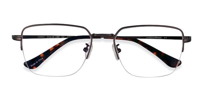 Gunmetal James -  Titanium Eyeglasses