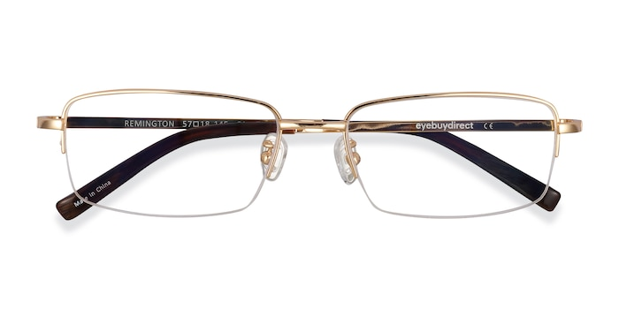 Gold Remington -  Titanium Eyeglasses