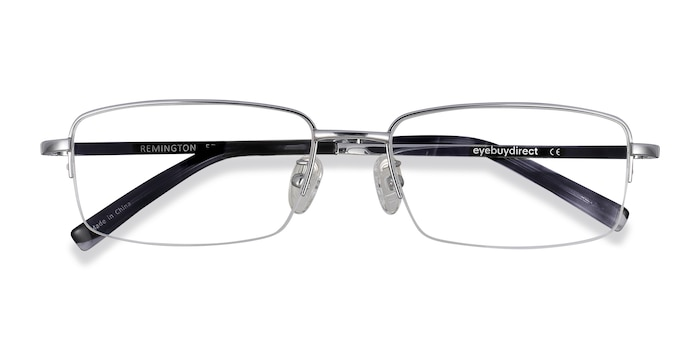 Silver Remington -  Lightweight Titanium Eyeglasses