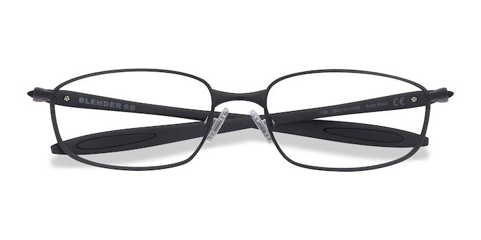 Satin Black Oakley Blender 6B -  Metal Eyeglasses